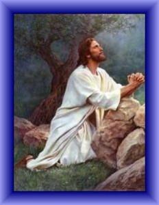 Jesus at Gethsemene
